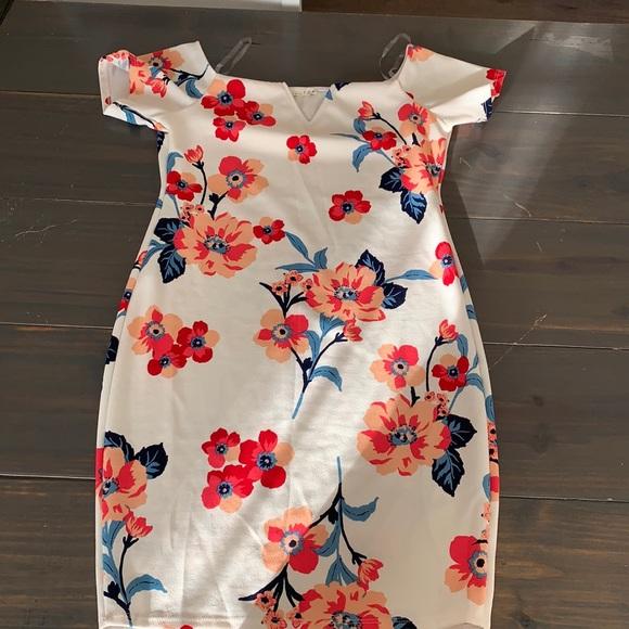 vici collection midi dress